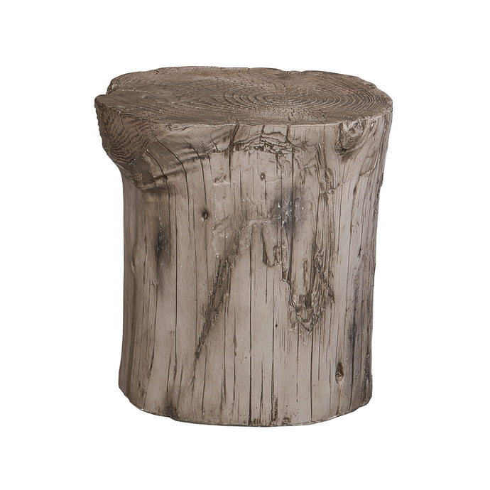 Powell Hunter Stump Grey Stool