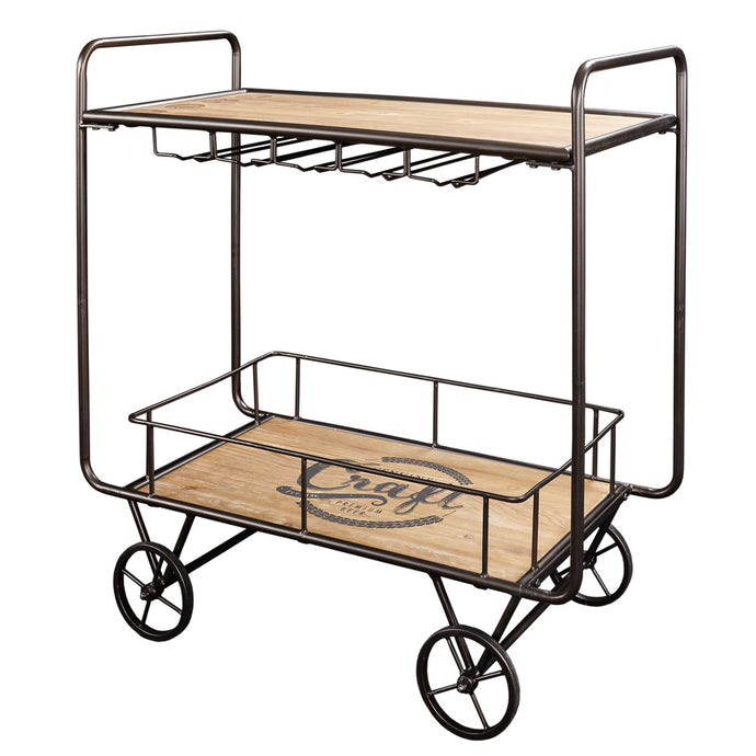 Powell Craft Brown & Black Ale Cart