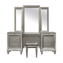Load image into Gallery viewer, Homelegance Tamsin Silver Wood Finish Vanity Desk