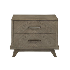 Homelegance Liatris Brown Wood Finish Nightstand