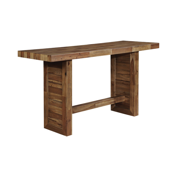 Homy Living Tucson Rustic Natural Wood Finish Bar Table