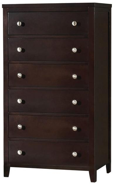 Coaster Carlton Cappuccino 5 Drawers Chest