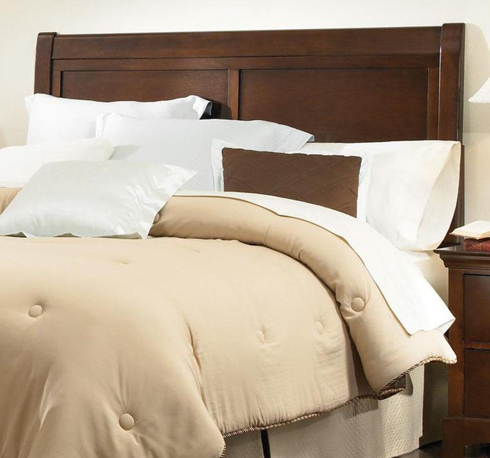 Tatiana Warm Brown Queen Full Transitional Headboard