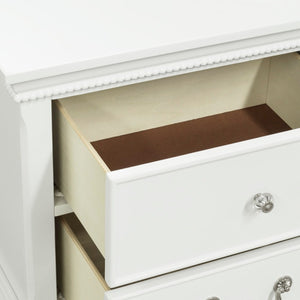Homelegance Lucida White Wood Finish Nightstand