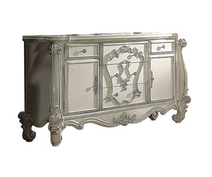 Acme Versailles Bone White Wood Finish Dresser