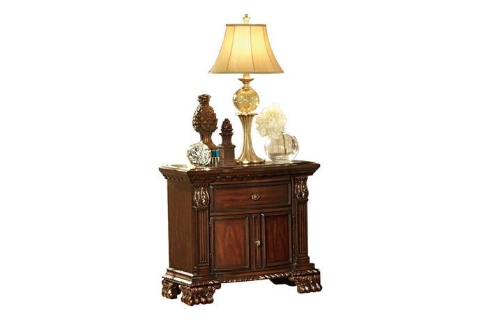 Homelegance 2168-4 Orleans Traditional Rich Cherry Wood Night Stand