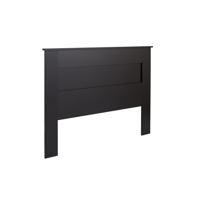 Prepac Black Wood Finish Queen Headboard