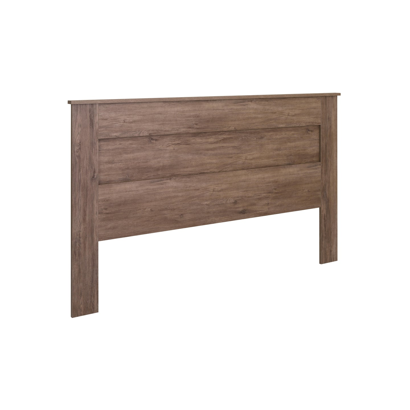 Prepac Milo Gray Wood Finish King Headboard
