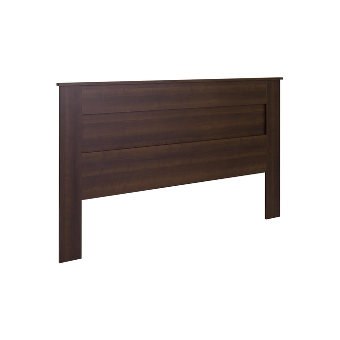 Prepac Espresso Wood Finish Queen Headboard