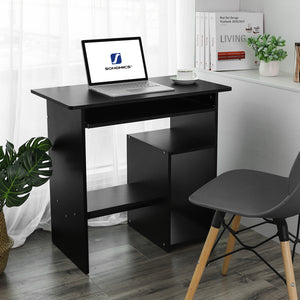 SONGMICS Computer Desk Compact Study Desk for Home and Office