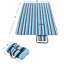 Load image into Gallery viewer, Songmics Outdoor Waterproof Beach Picnic Blanket