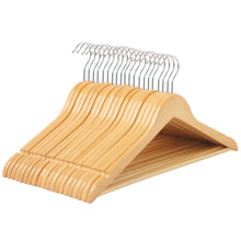 Load image into Gallery viewer, Songmics 20 Pack Selected Solid Wooden Hangers