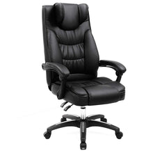Load image into Gallery viewer, Songmics Swivel Black Office Chair UOBG76B