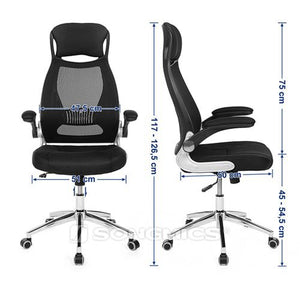 Songmics Back Support Mesh Chair UOBN86BK