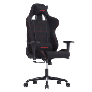 Songmics URCG001 Black Polyester And Steel Finish Gaming Office Chair