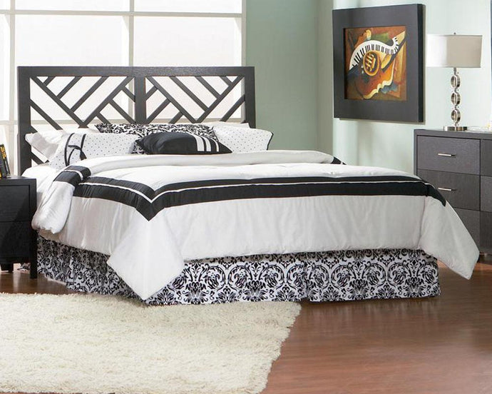Grove Black Queen Full Headboard