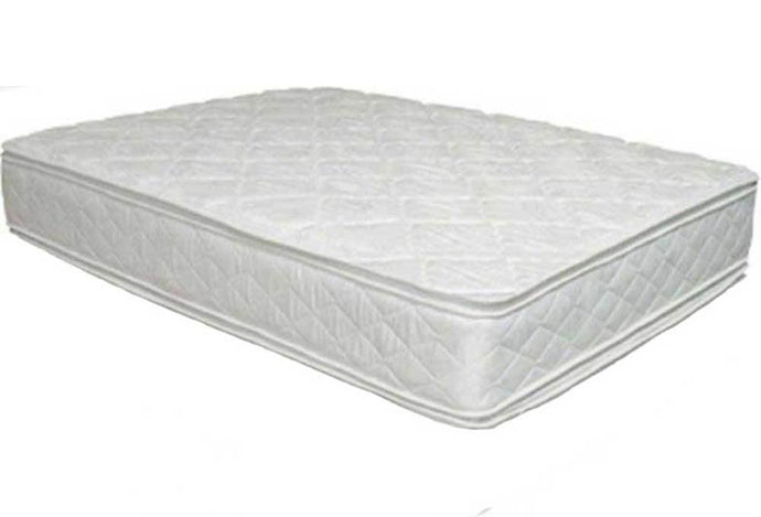 Miracle Mattresses Ortho Pillow Rest White Fabric Finish Twin Foundaton