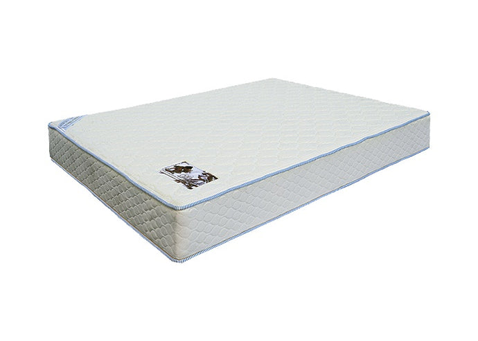 Miracle Mattresses Deluxe White Fabric Finish Queen Foundaton
