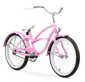 "Urban Girl 20"" Beach Cruiser Bicycle In Pink Firmstrong"