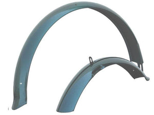 "26"" Firmstrong Fender Set Front and Rear Fenders Emerald Green"