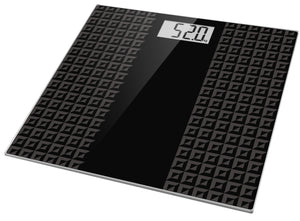 SBE3036 Electronic Bathroom Scale w/ Tempered Glass Balance Platform