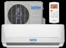 Load image into Gallery viewer, CoolTime 9000 BTU Ductless Mini Split Air Conditioner and Heater