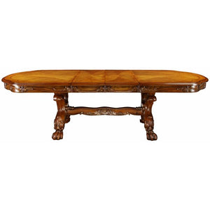 Furniture of America CM3557T Medieve Antique Oak Finish Dining Table