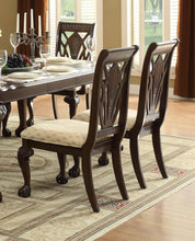 Load image into Gallery viewer, Homelegance Norwich Warm Cherry Wood Finish 2 Piece Dining Chair