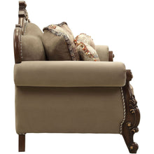 Load image into Gallery viewer, Acme 50691 Mehadi Rich Walnut Finish Traditional Love Seat
