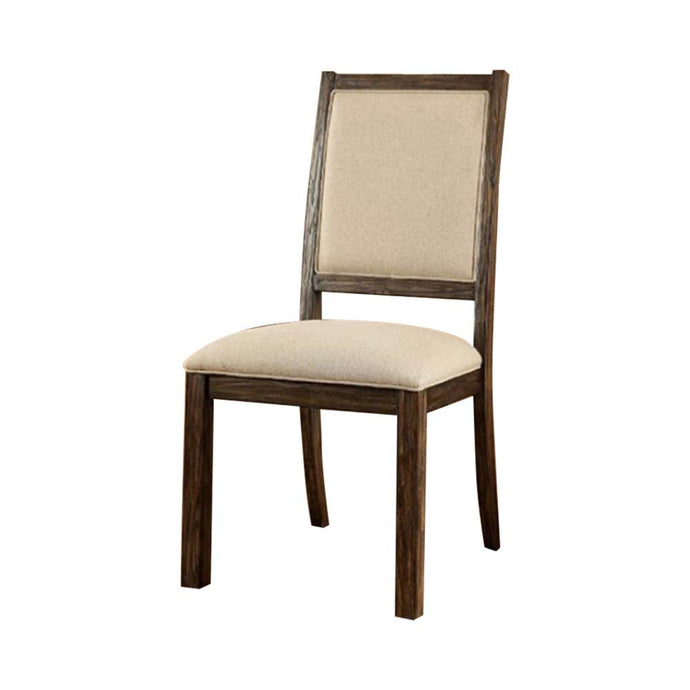 Colettte CM3562SC Contemporary Style Padded Fabric Wood Side Chair