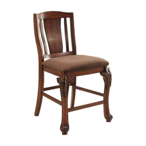 Johannesburg Brown Cherry Dining Chair CM3873PC Set Of 2