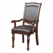 Load image into Gallery viewer, Homelegance Lordsburg Cherry Wood Finish 2 Piece Dining Arm Chair
