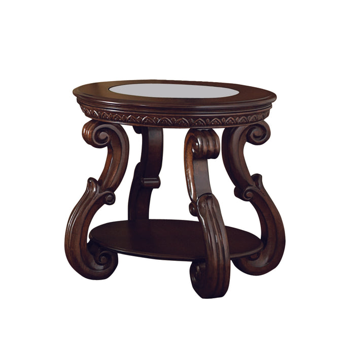 Homelegance Cavendish Cherry Wood Finish End Table