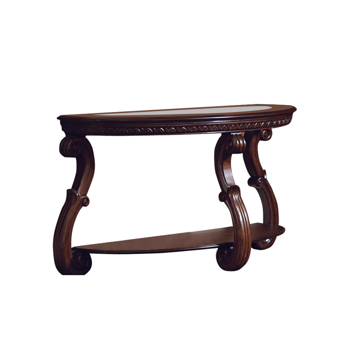 Homelegance Cavendish Cherry Wood Finish Sofa Console Table