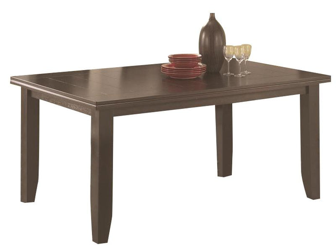 Dalila Rectangular Dining Table in Cappuccino