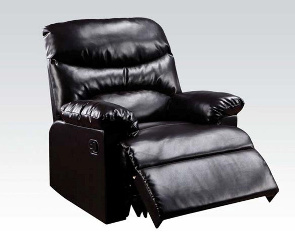 Acme Arcadia Espresso Bonded Leather Recliner Chair