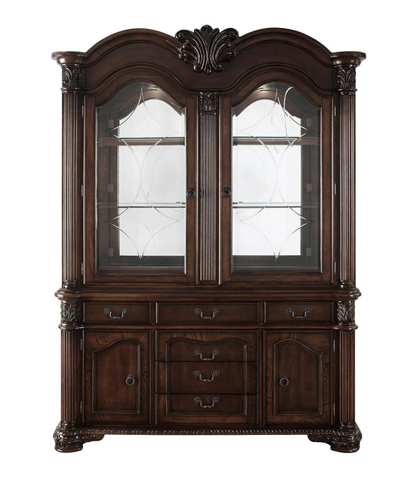 Acme Chateau De Ville Espresso Wood Finish China Cabinet