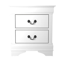 Load image into Gallery viewer, Homelegance Mayville White Wood Finish Nightstand