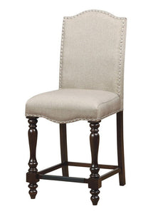 Hurdsfield II Transitional Antique Cherry Finish Counter Height Chair