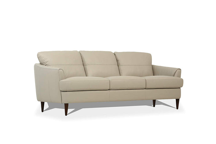 Acme Helena Pearl Gray Leather Finish Sofa