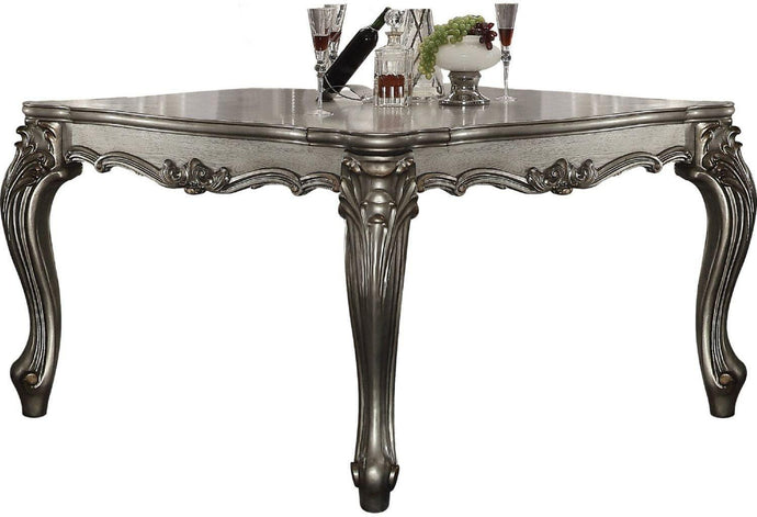 Acme 61150 Versailles Bone White Counter Height Dining Table