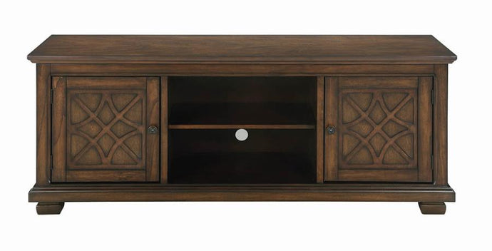 Coaster Golden Brown Wood Finish TV Stand