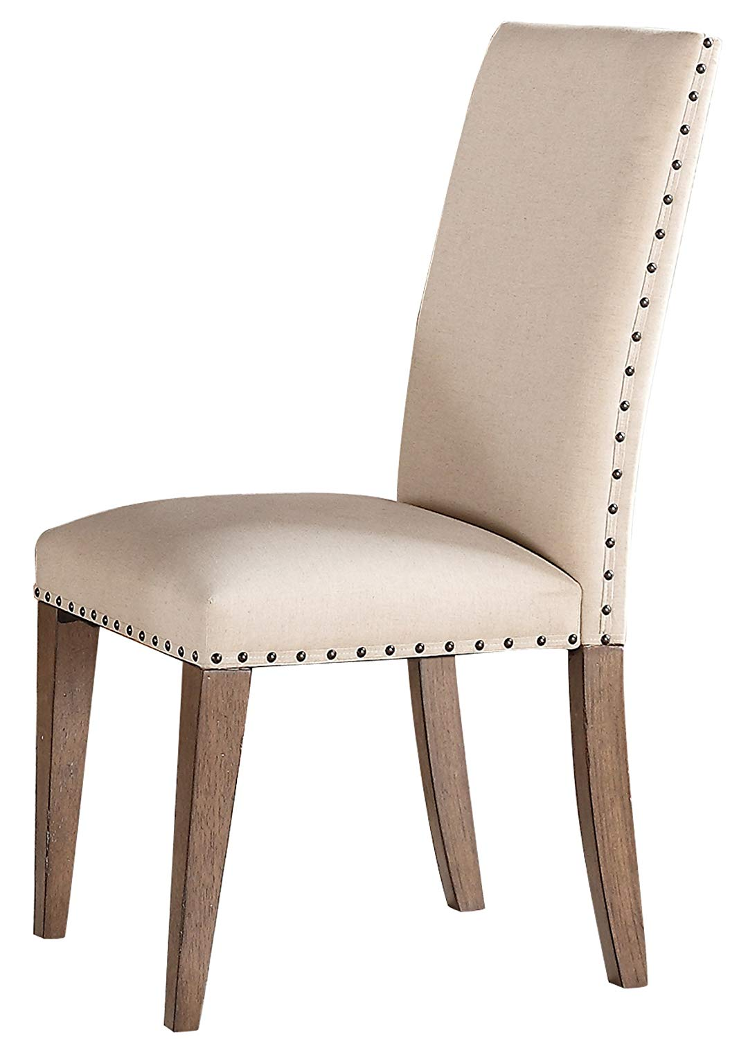 Homelegance Mill Valley Natural Wood Finish 2 Piece Dining Chair
