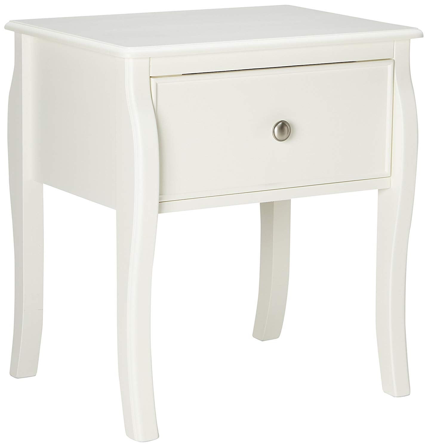Coaster Dominique White Nightstand with Drawers