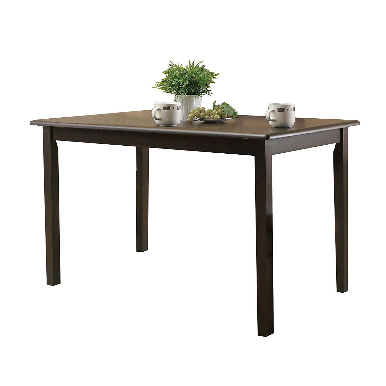 Acme 00860 Serra Cappuccino Wood Finish Dining Table