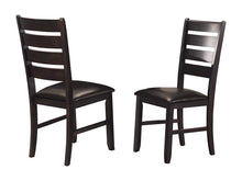 Load image into Gallery viewer, Homelegance Ameillia Dark Oak Wood Finish 2 Piece Dining Chairs