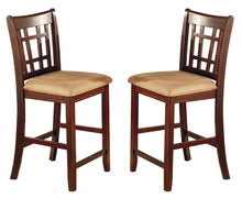 Load image into Gallery viewer, Coaster Lavon Cappuccino Counter Heigh Stool Set of 2