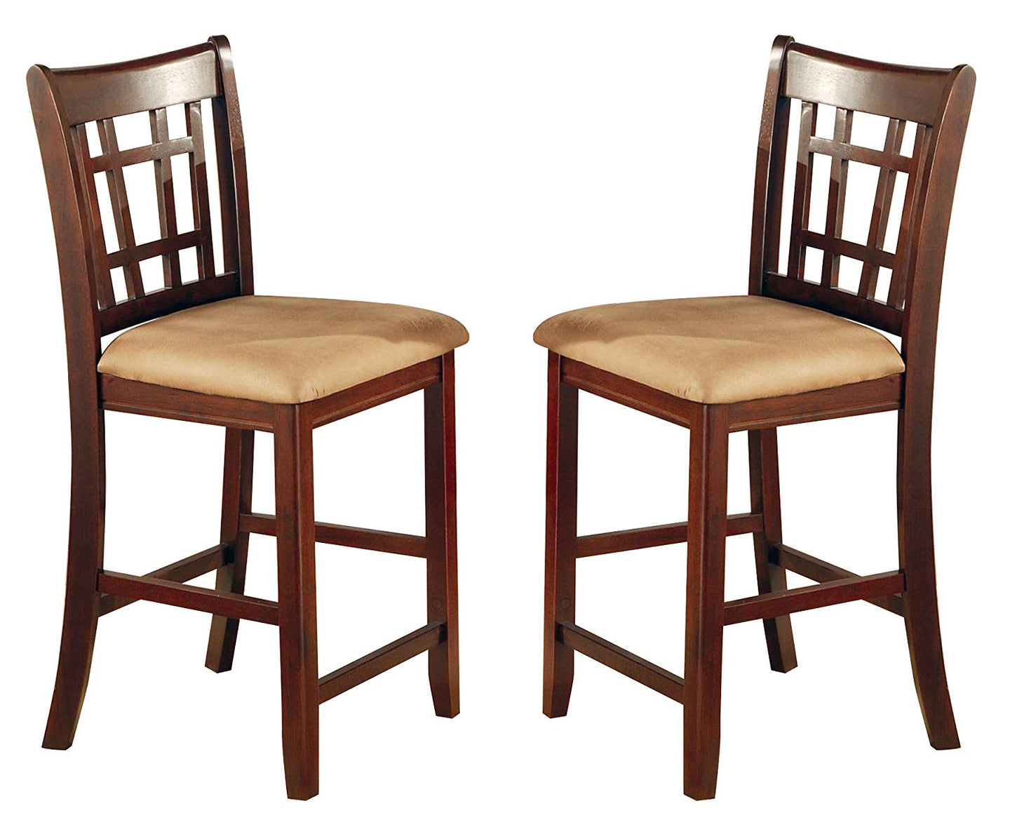 Coaster Lavon Cappuccino Counter Heigh Stool Set of 2