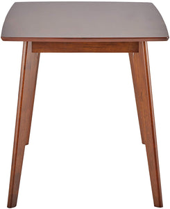 Coaster Kersey Chestnut Finish Angled Legs Dining Table