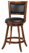 Load image into Gallery viewer, Coaster Counter Height Swivel Bar Stool in Espresso Set of 2